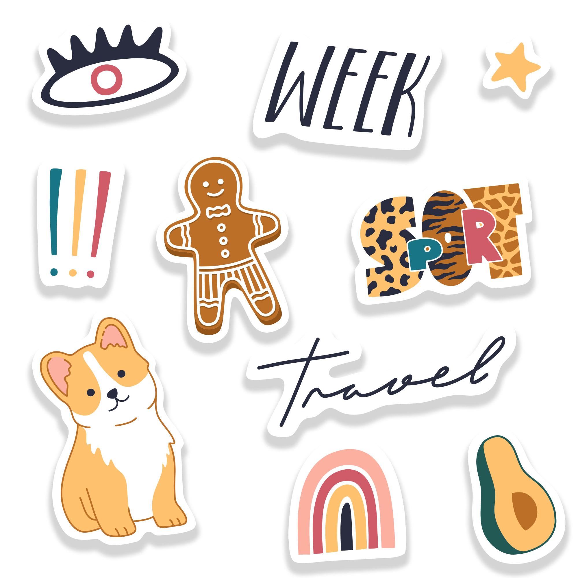 stickers homemade